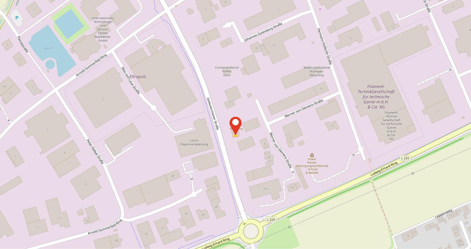 Krampen-Recycling-Standort-OpenStreetMap